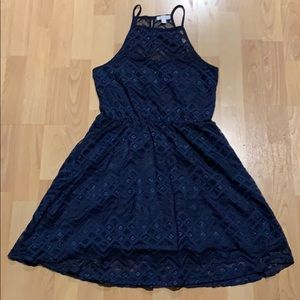 Charming Charlie Navy Dress